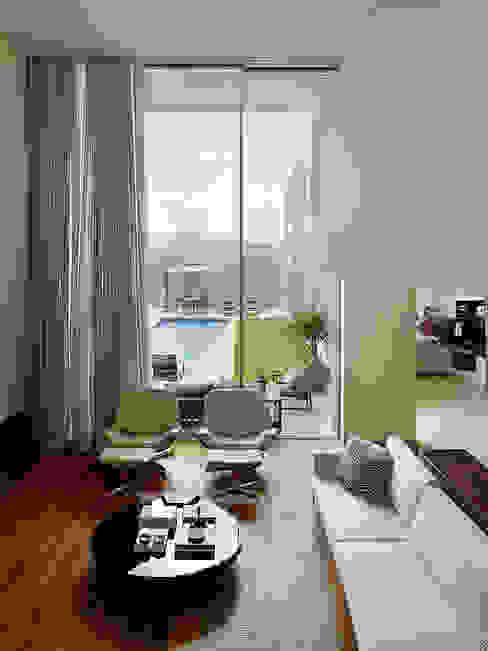 Modern living room by Márcia Carvalhaes Arquitetura LTDA. Modern