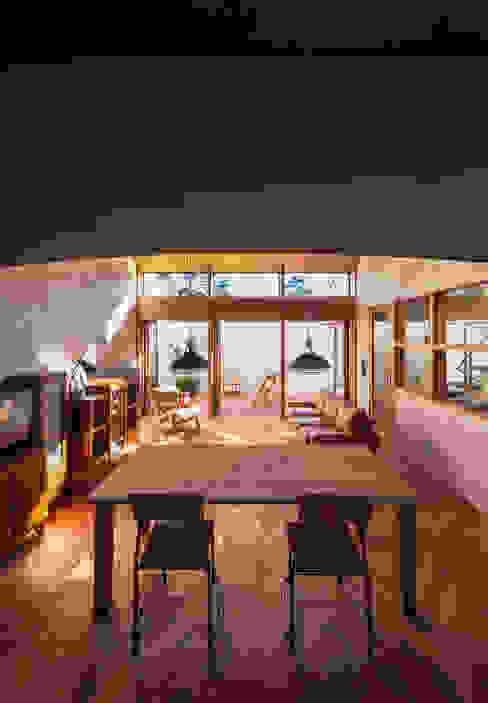 Phòng ăn phong cách hiện đại bởi Nobuyoshi Hayashi Hiện đại