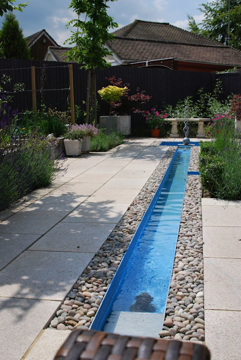 Church Mill Grange Asian style garden by Aralia Asian Stone