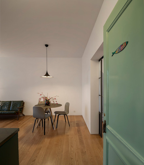 Príncipe real apartment lisbon Livings de estilo moderno de fala Moderno
