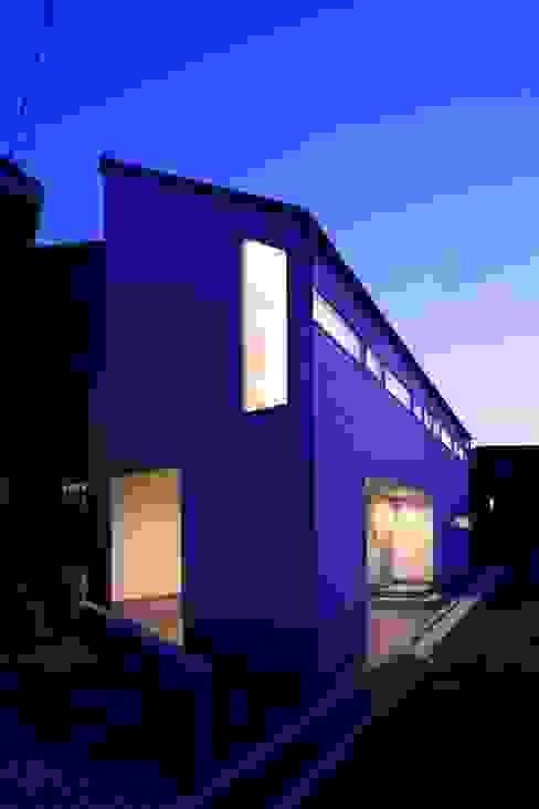 街並の中で オリジナルな 家 の 田原泰浩建築設計事務所 オリジナル