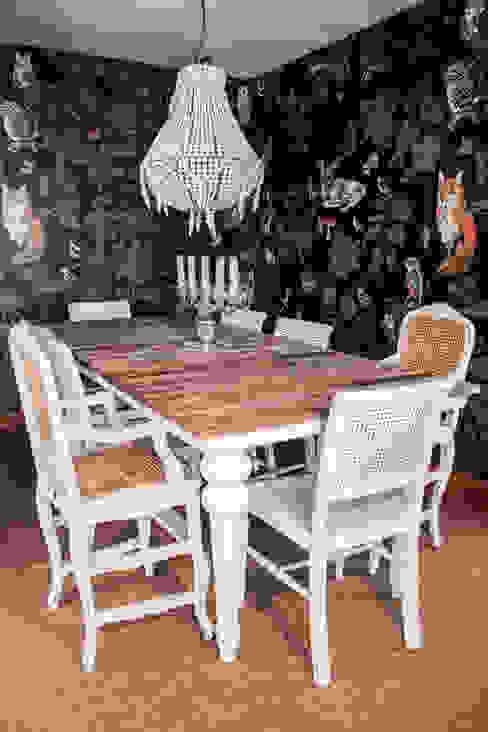 غرفة السفرة تنفيذ Gavetão- Decoração de Interiores, ريفي