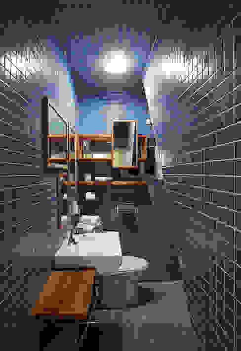 Banheiros modernos por designvom Moderno