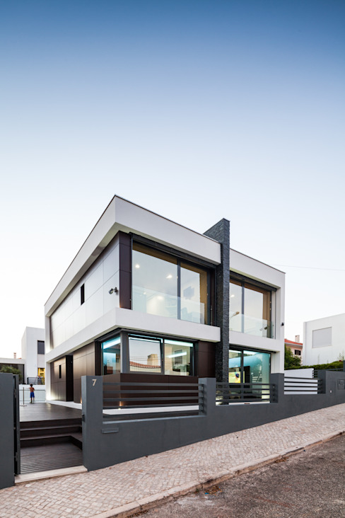 ML House Casas modernas por JPS Atelier - Arquitectura, Design e Engenharia Moderno