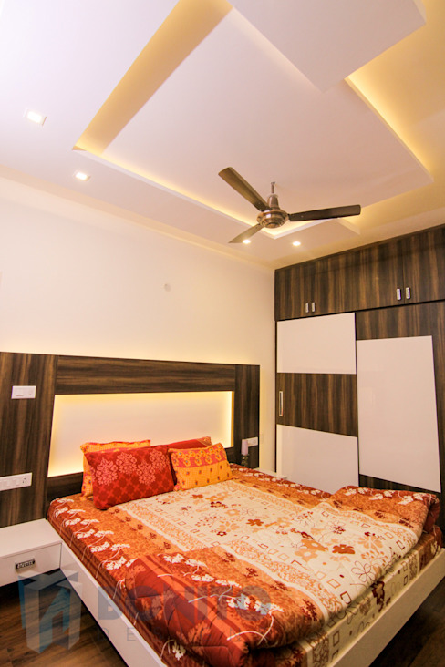 Bedroom wardrobe design ideas Asian style bedroom by homify Asian