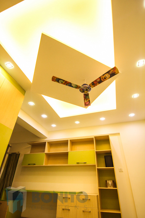 Study room false ceiling design Modern study/office by homify Modern