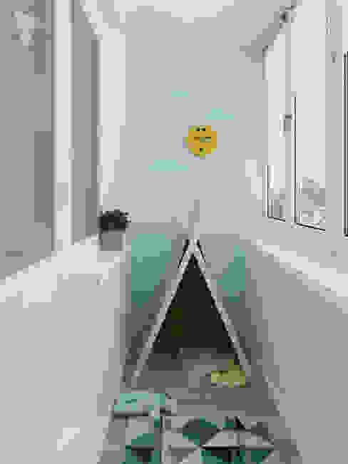 Детский балкон Балконы и веранды в эклектичном стиле от Olesya Parkhomenko Эклектичный