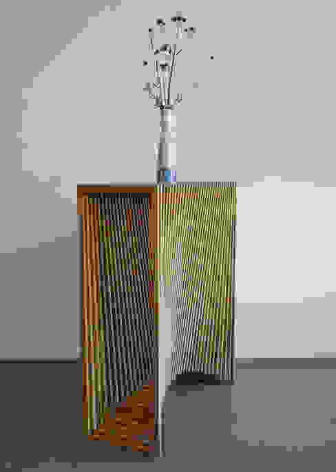 Latten bijzetmeubel met 2x radius meubelmakerij mertens WoonkamerAccessoires & decoratie Hout