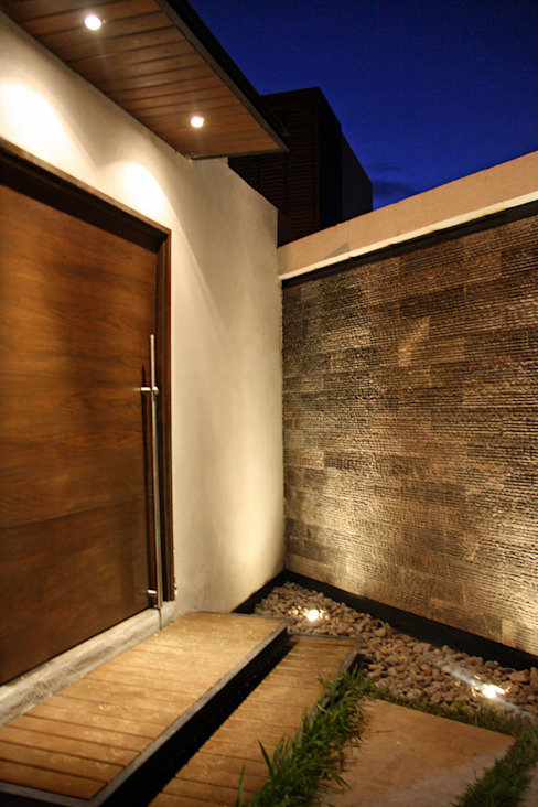 منازل تنفيذ Narda Davila arquitectura,