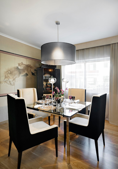 Moderne eetkamers van 3L, Arquitectura e Remodelação de Interiores, Lda Modern