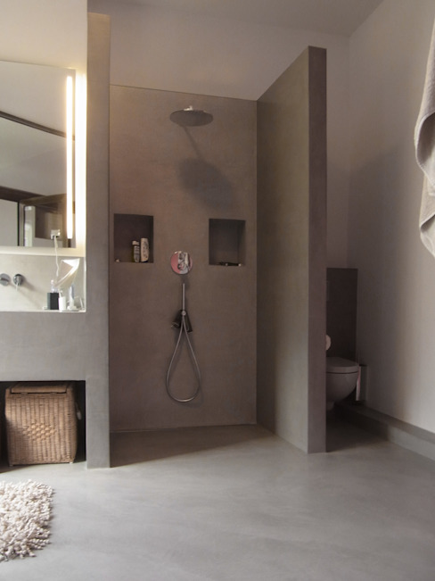 Meylenstein Modern style bathrooms Grey