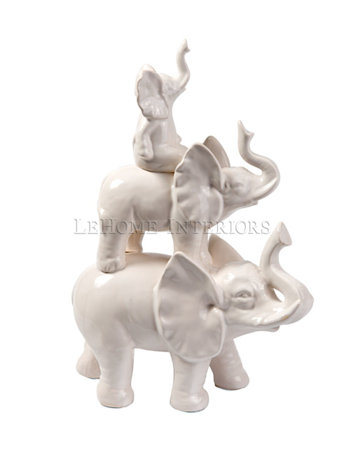 LeHome Interiors Living roomAccessories & decoration Ceramic White