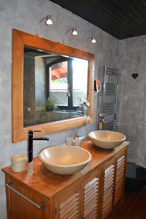Eclectic style bathroom by KREA Koncept Eclectic