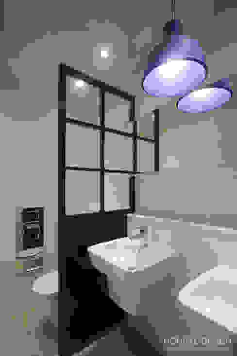 Scandinavische badkamers van 홍예디자인 Scandinavisch