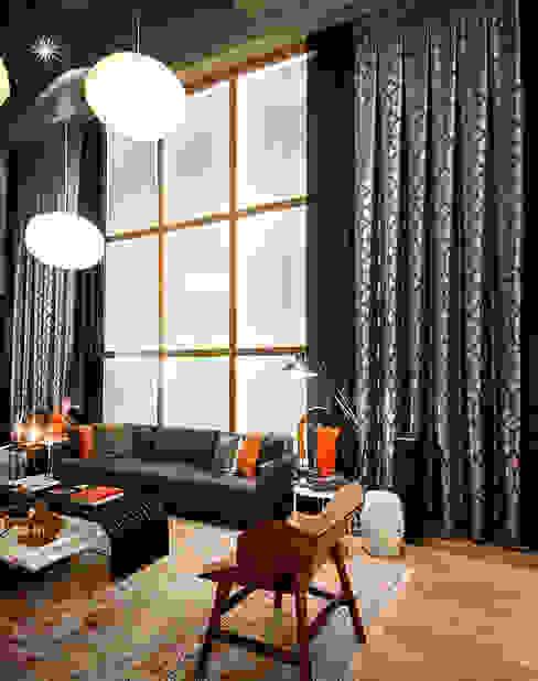 Triade Loft - Ambiente CASA COR SC 2015 Salas de estar modernas por Spengler Decor Moderno