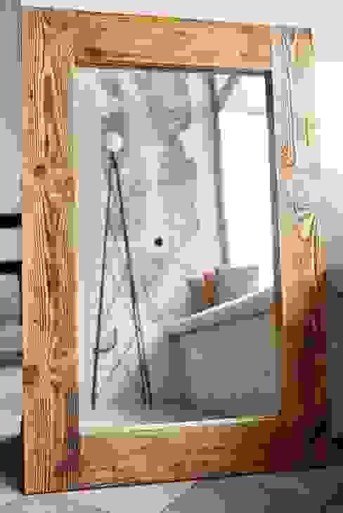 Lustro : styl , w kategorii  zaprojektowany przez Rekoforma,Skandynawski Drewno O efekcie drewna