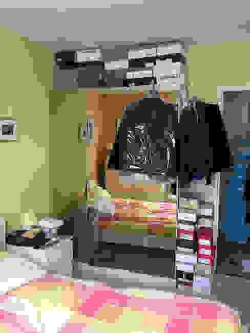 Chambre avant - Appartement Courbevoie par Nuance d'intérieur
