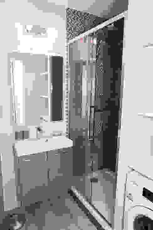 Salle de bain après - Appartement Courbevoie par Nuance d'intérieur