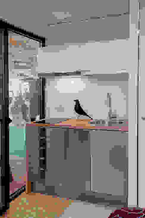 Copa / Cozinha Cozinhas minimalistas por Plano Humano Arquitectos Minimalista
