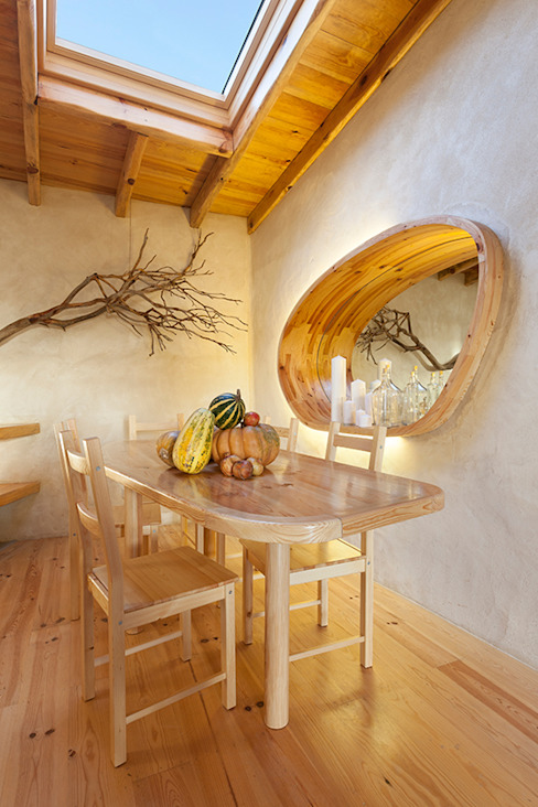 THE AZÓIA´S JEWEL Country style dining room by pedro quintela studio Country