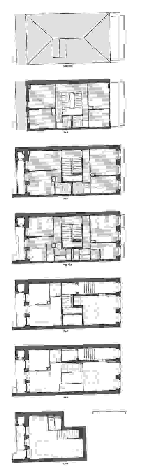 Plantas - Intervenção por Teresa Pinto Ribeiro   Arquitectura & Interiores Eclético
