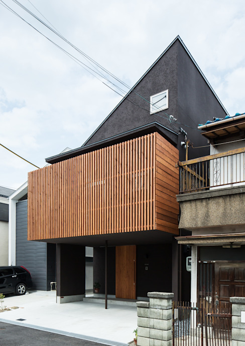 Rumah Modern Oleh 藤森大作建築設計事務所 Modern