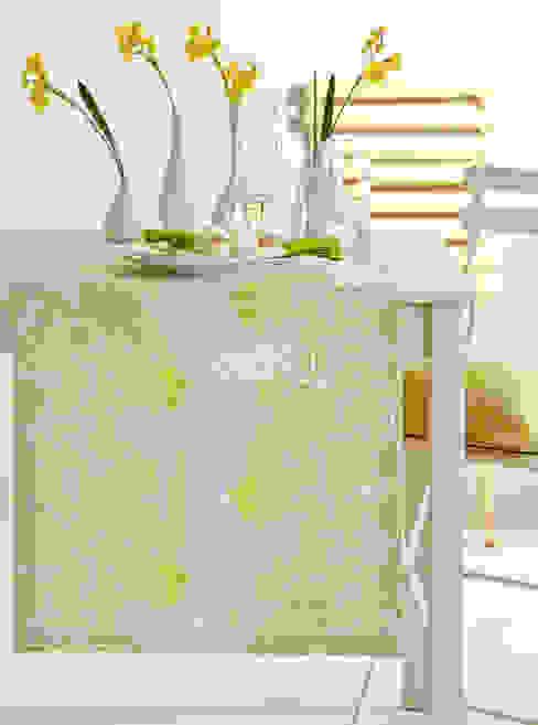 Tischläufer im zarten Frühjahrsgrün homify Moderne Esszimmer Grün