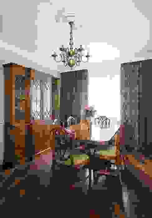 Проект квартиры в Викторианском стиле от NABOKOFF английские интерьеры Классический Дерево Эффект древесины