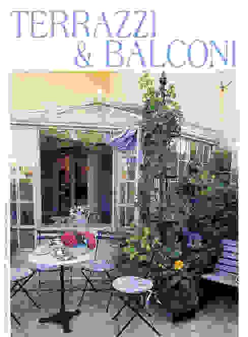 Eclectic style balcony, veranda & terrace by MASSIMO SEMOLA PROGETTAZIONE GIARDINI MILANO Eclectic