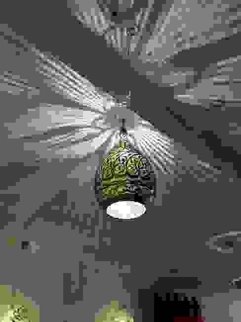 Living room تنفيذ Oriental Moon,