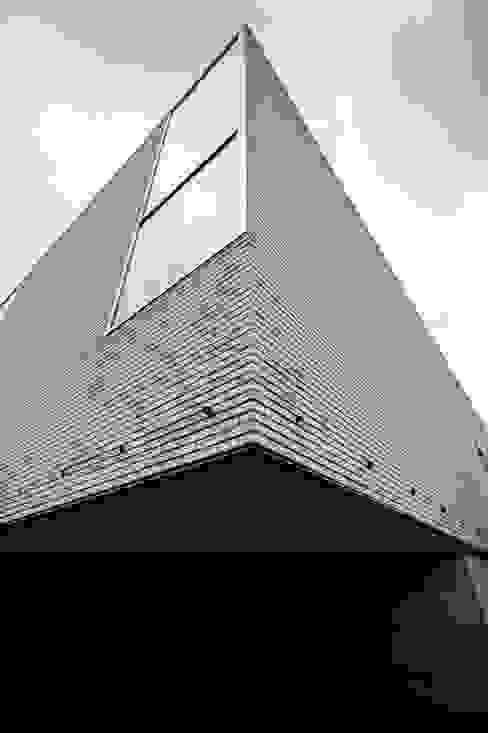 Le Cube Blanc par Luc Spits Architecture Moderne