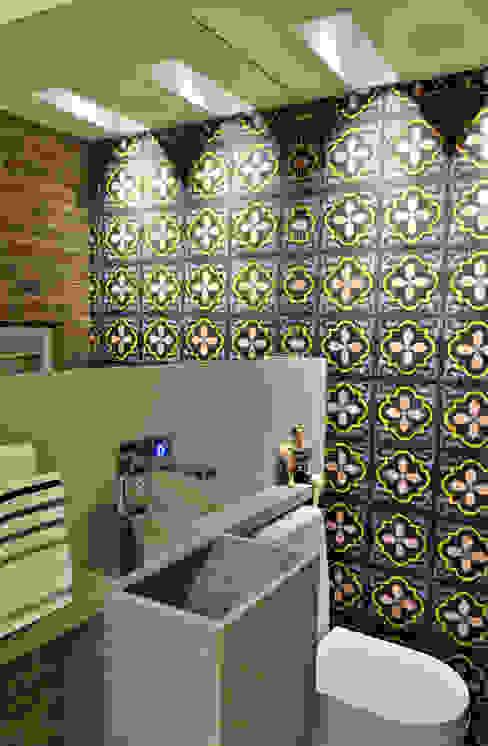 LAVABO Banheiros modernos por Edílson Campelo Arquitetura Moderno