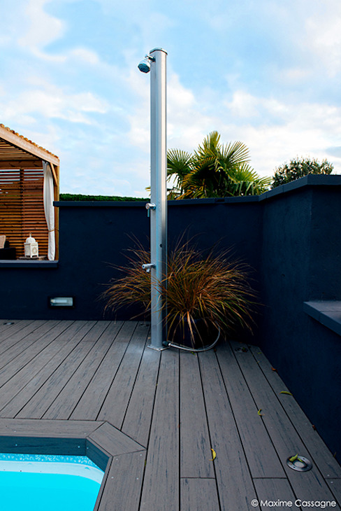 Varandas, marquises e terraços modernos por E/P ESPACE DESIGN - Emilie Peyrille Moderno