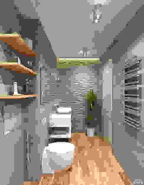 Badezimmer von 1+1 studio