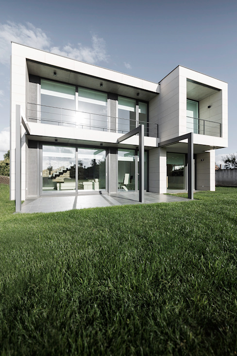 AD+ arquitectura Single family home Stone Beige