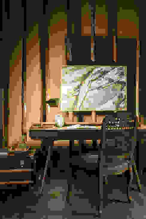Casa Cor 2015 - Living Melina Mundim | Design de Interiores Salas de estar modernas