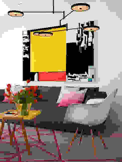 Livings de estilo minimalista de José Tiago Rosa Minimalista