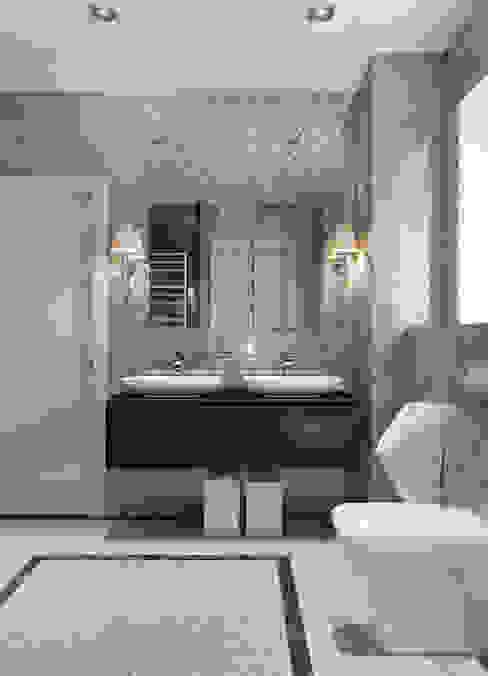 Baños de estilo moderno de EJ Studio Moderno