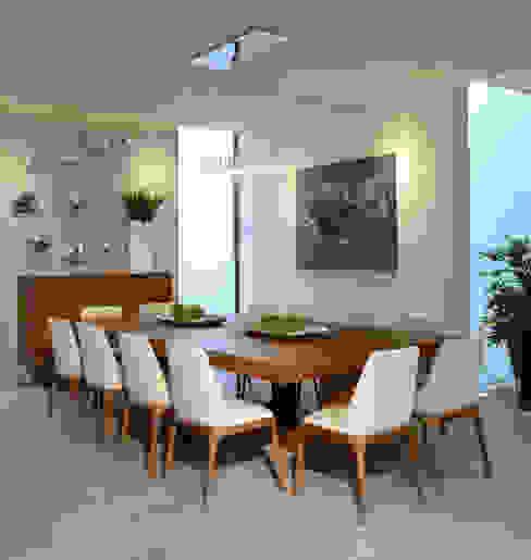 Dining room by VICTORIA PLASENCIA INTERIORISMO