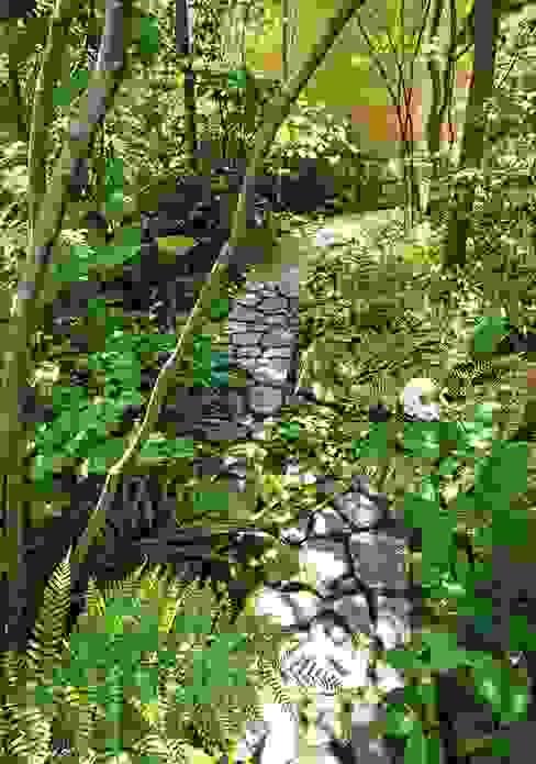 木漏れ日 オリジナルな 庭 の 庭 遊庵 オリジナル