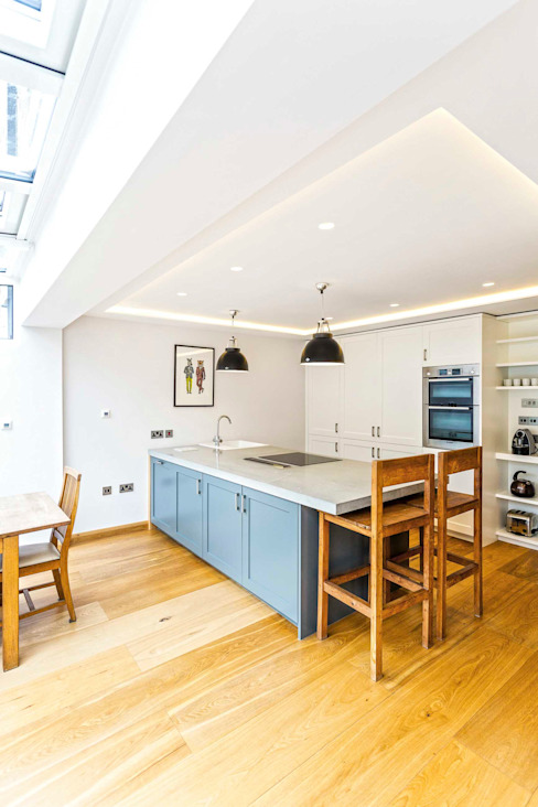 SE1 Extension Modern kitchen by Designcubed Modern