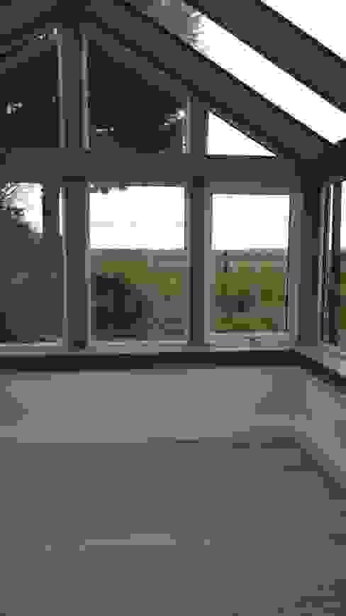 Grey Conservatory Modern conservatory by Architects Scotland Ltd Modern