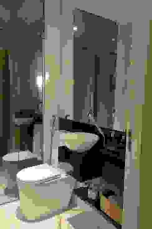 Lavabo: Banheiros  por Giovana Martins Arquitetura & Interiores,