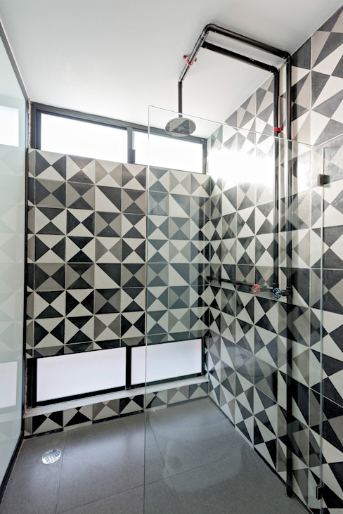 Industrial style bathroom by Proyecto Cafeina Industrial Pottery