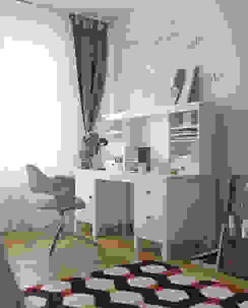 Детская комнатa в классическом стиле от homify Классический