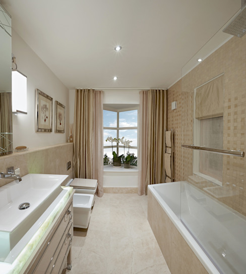 KT-43 Virginia Water Modern Bathroom by Keir Townsend Modern