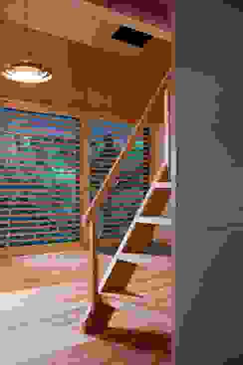 奏でるsumai モダンスタイルの 玄関&廊下&階段 の 一級建築士事務所アトリエ樫 モダン