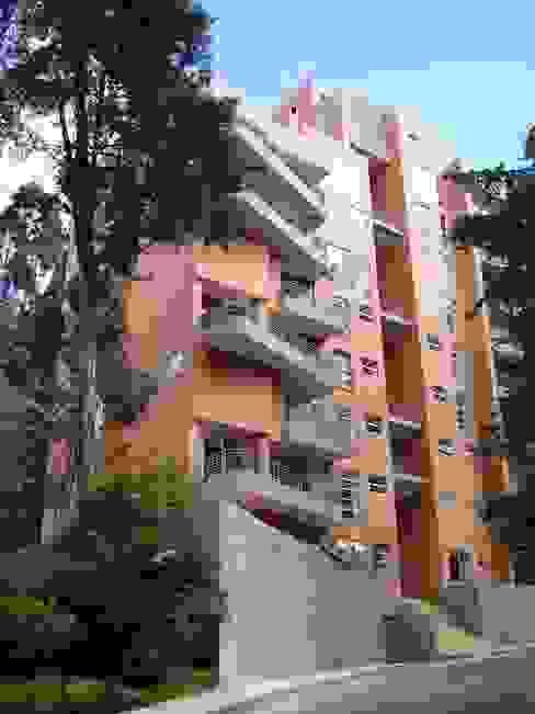 Edificio Terrazas de Medina Casas modernas de Vertice Oficina de Arquitectura Moderno Ladrillos