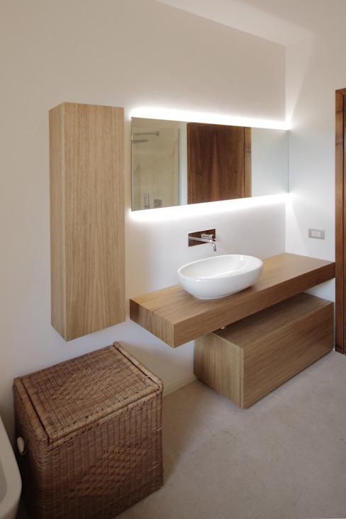 Progetti Baños de estilo moderno de luigi bello architetto Moderno