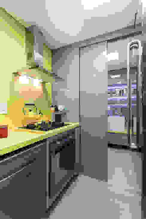 Cozinha por B+R Arquitetura Moderno